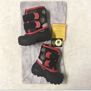 Icicles Light-Up Winter Boots Baby Sz 5 Spiderman